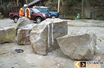 Desmonte de pedras e rochas em Estiva com massa expansiva