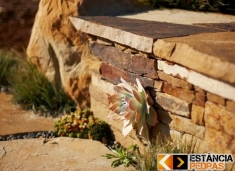 Muro de Pedra - Modelos de Muros Estância Pedras
