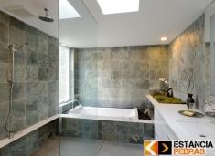 Banheiro e Lavabo - Modelos - Estância Pedras